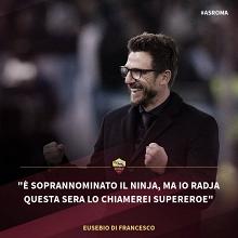 """Eusebio Di Francesco: """"Nainggolan, lo llaman ninja, yo lo llamaría superhéroe"""""""