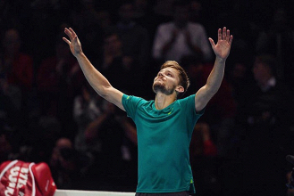 ATP Finals - Dimitrov vs Goffin, atto V con posta pesante