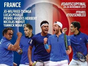Davis Cup - Lille ospita la finale, tutto pronto per Francia - Belgio
