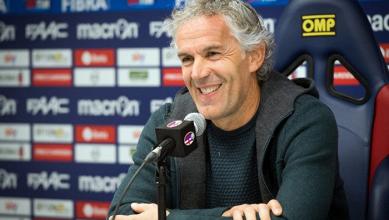 """Bologna, Donadoni: """"Abbiamo messo in difficoltà l'Inter, dobbiamo avere sempre questo atteggiamento"""""""