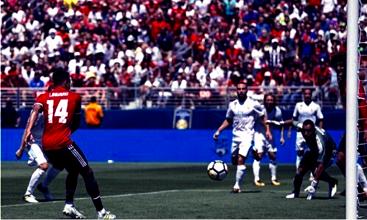 ICC - Il Manchester United batte il Real Madrid ai calci di rigore