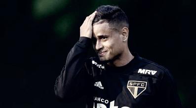Com estiramento na coxa, Everton desfalca São Paulo por até três semanas