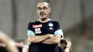 """Napoli, Sarri: """"Buona partita ma qualificazione ancora da conquistare"""""""
