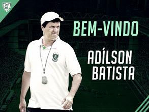 América-MG anuncia Adilson Batista como novo treinador