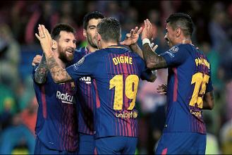 Champions League - Il Barcellona ipoteca il passaggio del turno: battuto l'Olympiakos 3-1