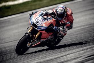 """Test Moto GP - Dovizioso: """"Sono soddisfatto ma teniamo i piedi per terra"""""""