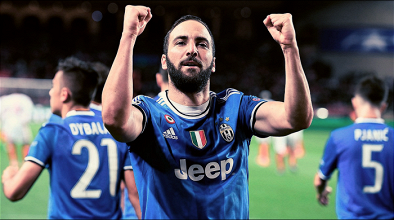 Champions League - Higuain lancia la Juventus verso la finale: battuto 0-2 il Monaco