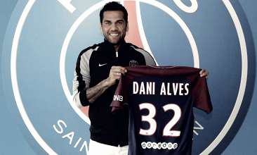 Ufficiale: Dani Alves firma con il Paris Saint Germain