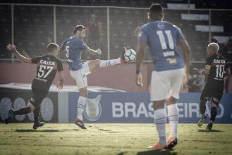 Em jogo movimentado, Vitória cede empate ao Cruzeiro no segundo tempo pelo Brasileirão