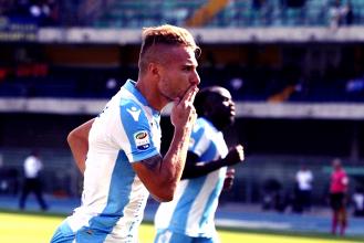 Serie A - La Lazio passeggia a Verona: 0-3 con un super Immobile