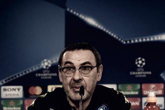"""Napoli-Shakhtar Donetsk 3-0, Sarri: """"E' difficile ma abbiamo l'obbligo di credere nella qualificazione"""""""