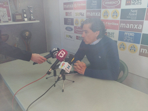 "Garrido: ""Son más que tres puntos"""