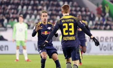 Bundesliga 2017/18 - 1-1 tra Wolfsburg e Lipsia. Vince l'Eintracht