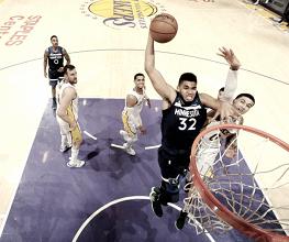 Timberwolves ofuscam atuação de Kyle Kuzma e superam Lakers na rodada de Natal