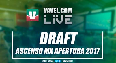 Draft Ascenso MX del Apertura 2017
