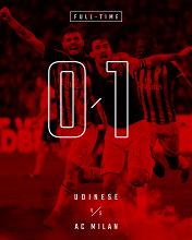 Serie A - Milan all'ultimo respiro, Udinese beffata (0-1)