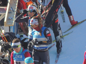 Biathlon - Hochfilzen, sprint femminile: si impone Domracheva, Wierer è terza