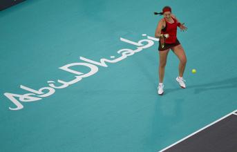 Mubadala World Tennis Championship - Williams cede a Ostapenko, dubbi sul futuro - MWTC Twitter