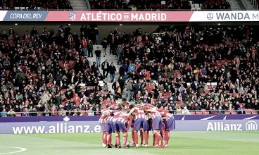 El Atlético, un equipo con hambre