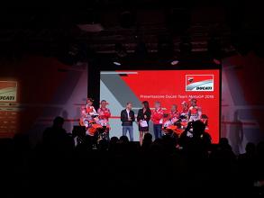 MotoGP, svelata la Ducati 2018