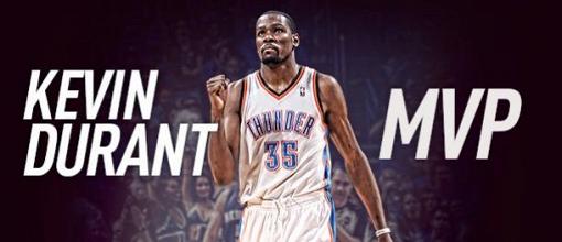 NBA : Durant enfin MVP, Noah éblouissant 4e