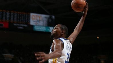 NBA - Durant trascina Golden State, Cleveland si inchina ancora