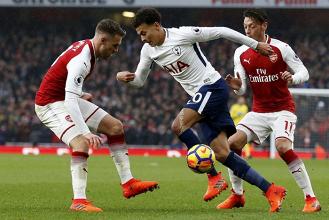 Tottenham 1-0 Arsenal in Premier League 2017/18: LA SBLOCCA KANE!