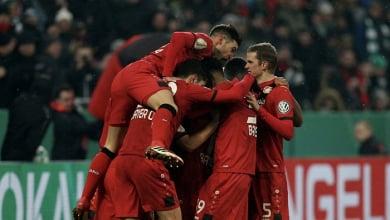 DFB Pokal - Brandt salva il Leverkusen, Bellarabi lo manda in semifinale: Werder steso 4-2