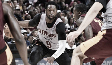 NBA, Dwyane Wade in quintetto anche a Cleveland