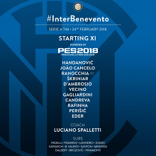 Serie A, le formazioni ufficiali di Inter Benevento