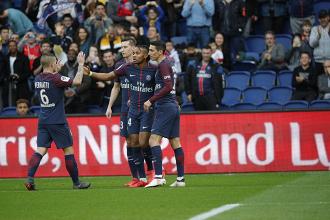 Ligue 1: il PSG vince ancora, Metz battuto 5-0 alParc des Princes