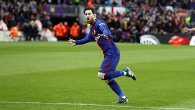 Liga - Messi stende l'Atletico, vincono anche Real Madrid e Valencia
