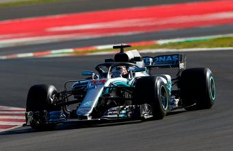 Formula 1 - Gp Spagna: PL3 a tutta Mercedes, ma Vettel e Raikkonen sono lì