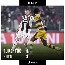 Serie A-La Juventus incappa nel pari contro un bellissimo Parma (3-3)