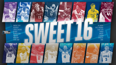 NCAA, March Madness - Sweet Sixteen: chi ci arriva meglio?