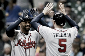 Matt Kemp, Freddie Freeman carrying Atlanta Braves' offense, Dansby Swanson struggling