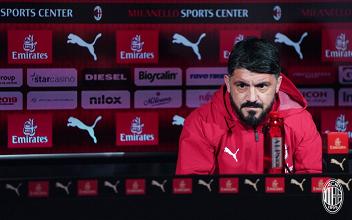 Lazio - Milan: i convocati rossoneri e le parole di Gattuso