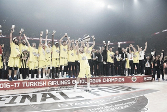Turkish Airlines Euroleague - Fenerbahce campione, Udoh MVP della Final Four: le voci del post