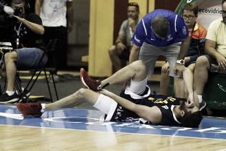 UCAM Murcia pierde a Antelo por rotura del Tendón de Aquiles