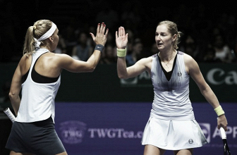 WTA Finals: Defending champions Ekaterina Makarova and Elena Vesnina gets off to a winning start
