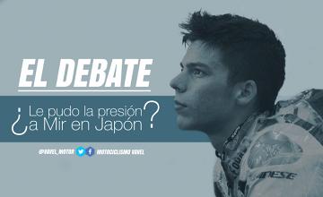El debate: ¿le pudo la presión a Joan Mir en Japón?