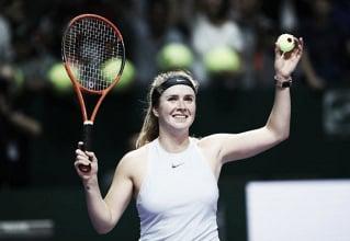 WTA Finals: Elina Svitolina defeats Simona Halep, ends the season on a high