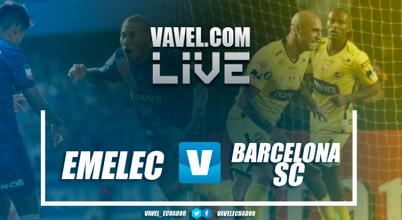 Barcelona SCse lleva la victoria enelClásico del Astillero con doblete de Álvez(2-1)