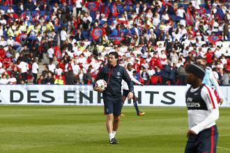 Emery non sarà più l'allenatore del PSG nella prossima stagione