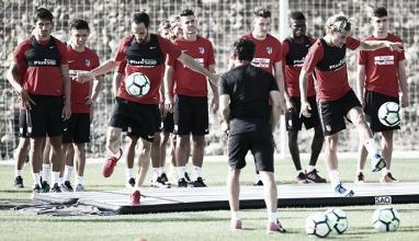 El Atlético comienza su segunda semana de entrenamientos