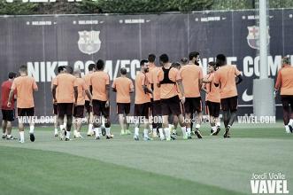 El Barça inicia su plan de entrenamientos
