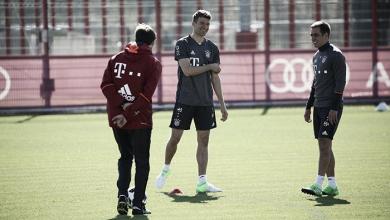 Los internacionales regresan a los entrenamientos con el Bayern