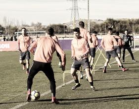 Plan de trabajo semanal del Real Valladolid