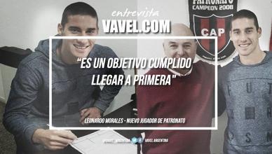 """Leonardo Morales: """"Es un objetivo cumplido llegar a Primera"""""""