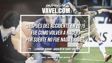 """Leonardo Burián: """"Mi característicaprincipal es ser arquero jugador"""""""